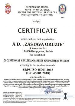 SRPS ISO 45001-2018