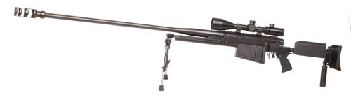Long Range Rifle M12 left side